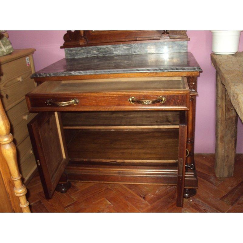spiegelkommode kommode spiegeltisch schrank antik h usla. Black Bedroom Furniture Sets. Home Design Ideas