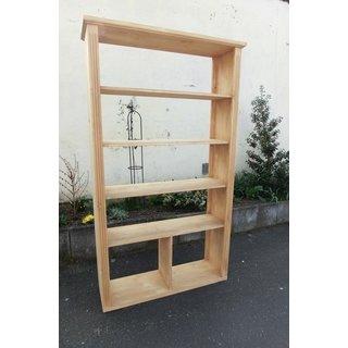 Regal, Weichholz, Bücherschrank, Schrank, Bücherregal,Raumteiler - An