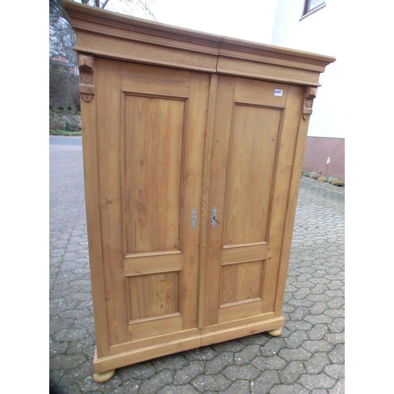 schrank kleiderschrank 2 t rig garderobenschrank weichholz gr nd. Black Bedroom Furniture Sets. Home Design Ideas