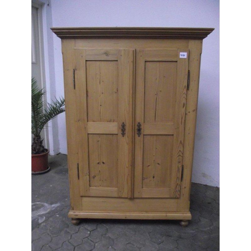 schrank kleiderschrank 2 t rig garderobenschrank weichholz anti. Black Bedroom Furniture Sets. Home Design Ideas