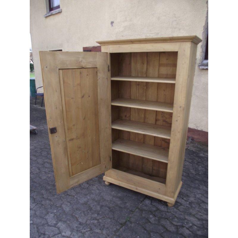 schrank kleiderschrank 1 t rig garderobenschrank. Black Bedroom Furniture Sets. Home Design Ideas