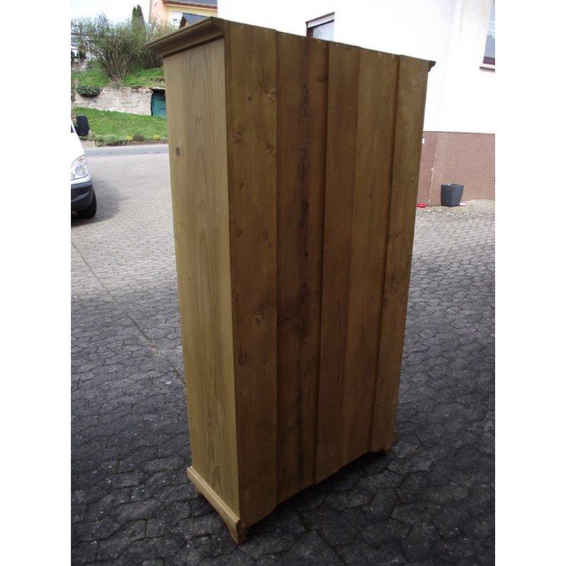 schrank kleiderschrank 1 t rig garderobenschrank weichholz anti. Black Bedroom Furniture Sets. Home Design Ideas