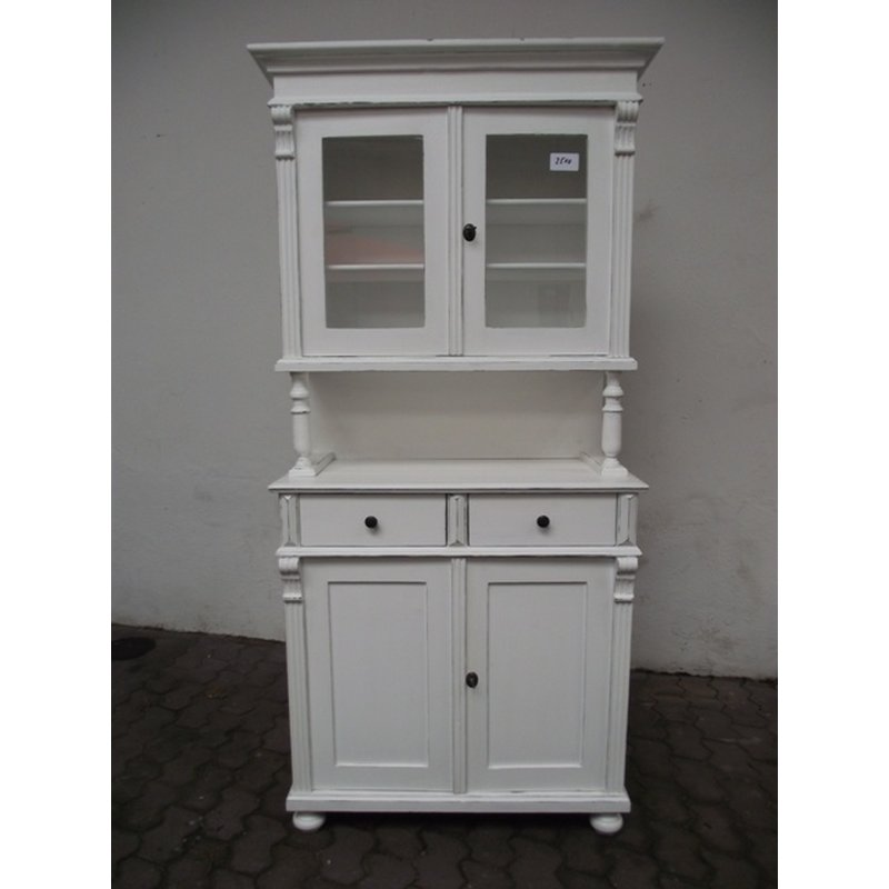 k chenbuffet buffet weichholz gr nderzeitstil im shabby chic ant. Black Bedroom Furniture Sets. Home Design Ideas