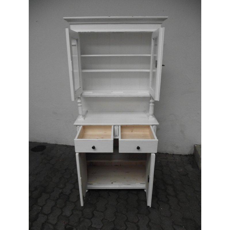 k chenbuffet buffet weichholz gr nderzeitstil im shabby. Black Bedroom Furniture Sets. Home Design Ideas