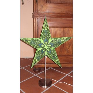 Starlightz Stern, earth friendly, Leuchtstern Mercury green
